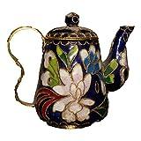 LAOJUNLU Cloisonné Wine Pot Colgante Con Cobre Neumático Imitación de bronce antiguo colección de solitario chino tradicional joyería