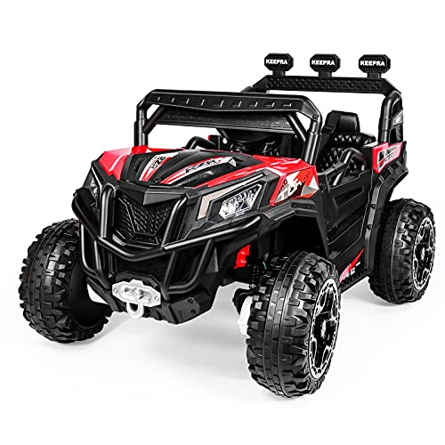 Kids Ride on Truck, 4WD 30W Motors Off-Road UTV, 12V 10Ah Battery Powered...