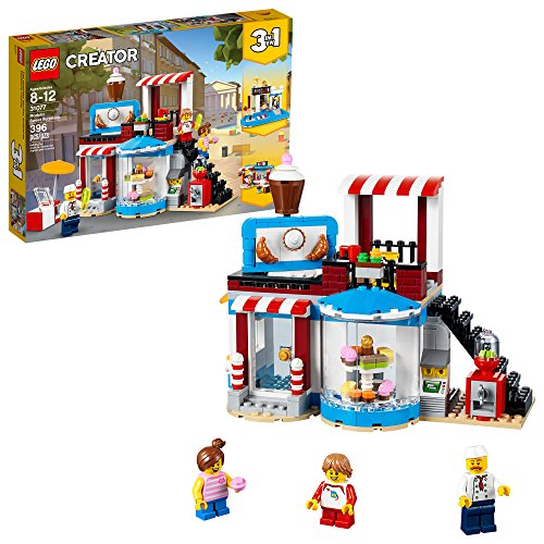 LEGO Creator 3in1 Modular Sweet Surprises 31077 Building Kit (396 Pieces)
