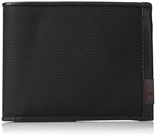 Tumi Alpha Porta carte di credito, 12 cm, Nero (Black)