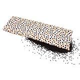 Körnerkissen 60x20 cm Mikrowelle groß für Nacken, Schulter & Rücken Raps-Samen-Körner-Kissen Wärme-Kissen - bunte Punkte - Motiv für Damen, Frauen & Mädchen - abnehmbarer Bezug