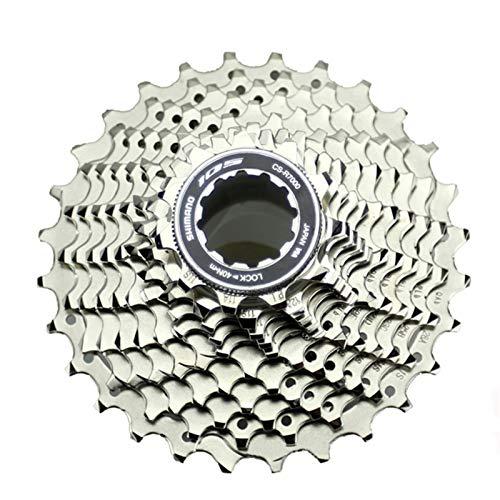 AJO R7000 Index 11/12-25/28/30/32/34T Tornillo de Bloque de Rueda Libre de Bicicleta en piñón de Cassette, piñón de Rueda Libre de Pieza de Repuesto de Bicicleta MTB de 11 velocidades