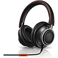 Philips L2BO/27 Fidelio Over-Ear 6.3mm Wired Headphones (Black/Orange)