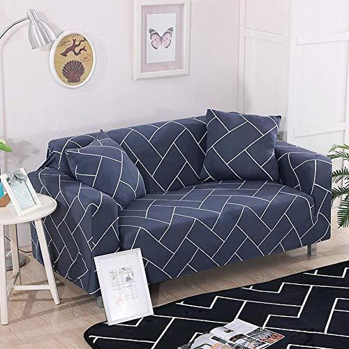 Raguso Funda de sofá Funda de sofá para Oficina Stretch(Double Seat 145-185cm)