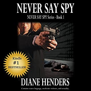 Never Say Spy audiobook cover art