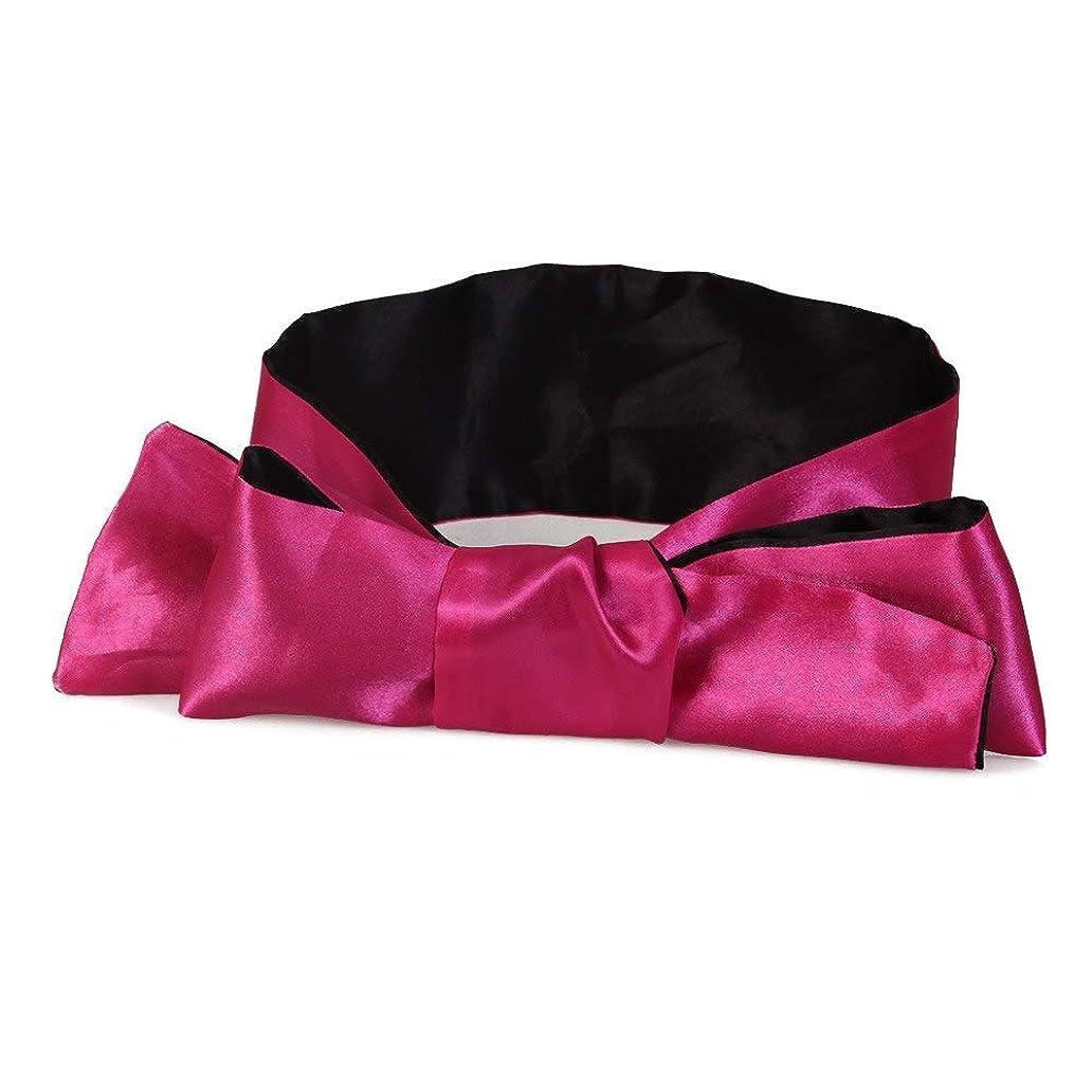 収容する失う変動するNOTE 目に柔らかい目隠しサテンリボン包帯快適な睡眠アイマスク通気性カバーアイパッチ睡眠のための男性と女性