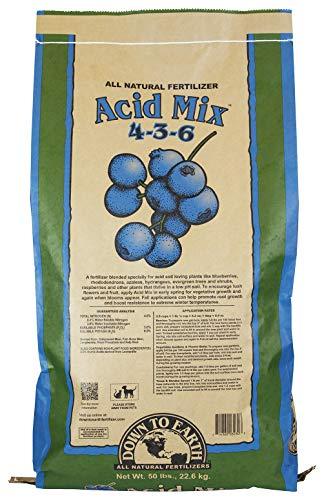 Down To Earth All Natural Acid Mix Fertilizer 4-3-6, 50 lb