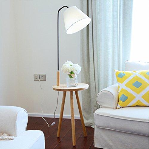 WQRTT Lámpara de pie IKEA Moderna Sala de Estar Estudio lámpara de ...