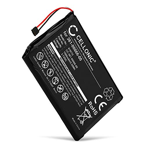 CELLONIC® Qualitäts Akku kompatibel mit Garmin Nüvi 2689, Nüvi 2757, Nüvi 2797, Dezl 760, Nüvi 2699, NüviCam, Garmin 361-00066-00, 361-00066-10 1500mAh Ersatzakku Batterie