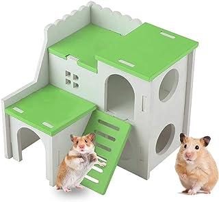 Xinstroe Bunny Chew Toys Pet Rabbits Cats Criceto Arrampicata Fun Tree con Carote Giocattolo divertente per Rabbits Cats Criceto