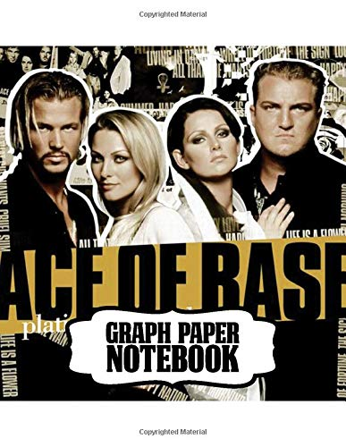 Notebook: Ace of Base Swedish Pop Group Happy Nation Best-Selling Debut Albums, Supplies Student Teacher Daily Creative Writing, Teenage Adults Soft Cover Paper 8.5 x 11 Inches 110 Pages