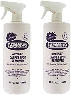 Folex Instant Carpet Spot Remover (32oz, Pack of 2), 64 Fl Oz