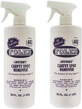 Folex Instant Carpet Spot Remover (32oz, Pack of 2)