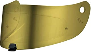 HJC Helmets HJ-20M Unisex-Adult Full-Face-Helmet-Style Replacement Helmet Face Shield (Gold,One Size)