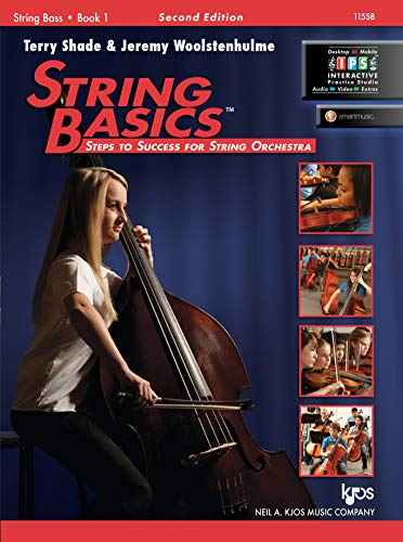 115SB - String Basics: Steps to Success for String Orchestra String Bass Book 1