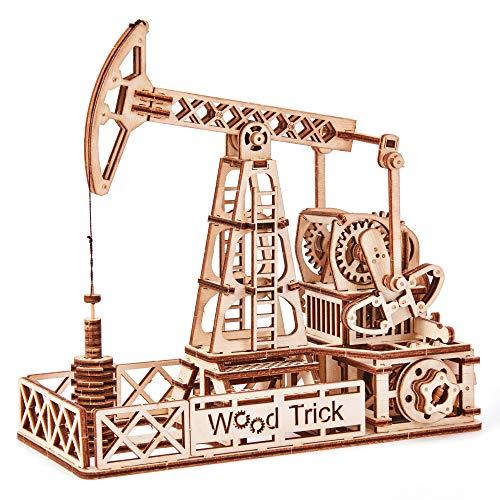 Puzle de madera 3D - Extractor de petróleo