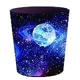 12che 10L Wasserdicht Galaxy Papierkorb Cartoon Klein Mülleimer Papierkorb für Kinder, Schlafzimmer