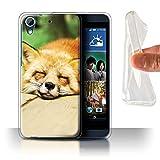 Hülle Für HTC Desire 626 Süß Baby Tier Fotos Roter