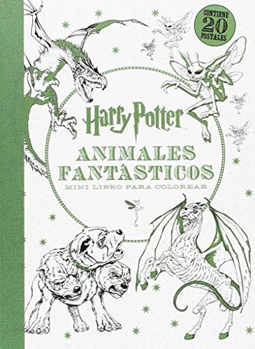 Harry Potter. Animales Fantásticos. Mini Libro Para Colorea (HARRY POTTER LIBROS PARA COLOREAR)
