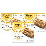 Simple Mills Almond Flour Snack Bars (Nutty Banana Bread) with Organic Coconut Oil, Chia Seeds,...