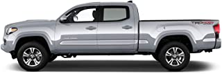 Dawn Enterprises FE-TACDC Finished End Body Side Molding Compatible with Toyota Tacoma - Magnetic Gray (1G3)