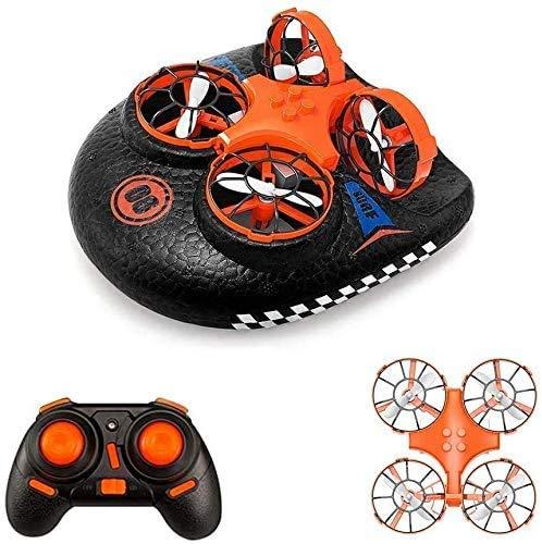 EACHINE E016F - Mini barco con mando a distancia y dron para niños y bebés