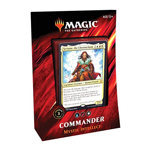 Magic: The Gathering Commander Mystic Intellect Deck