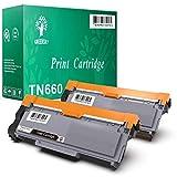GREENSKY 2 Paquetes Cartucho de tóner compartible de reemplazo para Brother TN2320 TN2310...