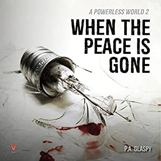 When the Peace Is Gone audiobook cover art