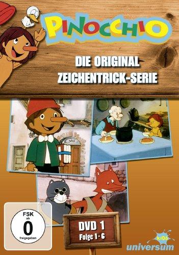Pinocchio - DVD 1 (Folgen 1-6)