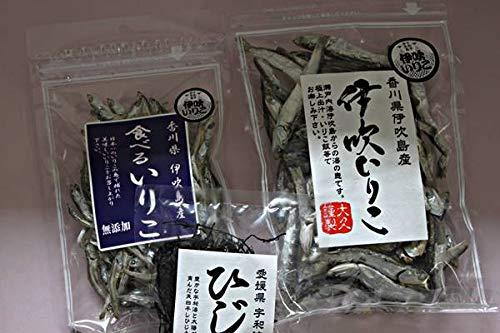 【訳ありでお買い得】海産物セット(伊吹いりこ2袋+ひじき1袋)