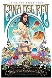 Póster de Lana del Rey con Texto en inglés Burning Desire, 30,5 x 45,7 cm