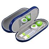 ROSENICE Portable 2-in-1 Brillen und Kontaktlinsen Hartschalenkoffer für Home Travel Kit ...