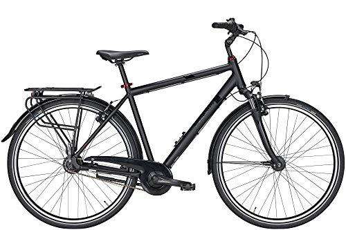Pegasus Solero SL 8 Herren Trekkingrad 8-Gang Nabe R�cktrittbremse 28 Zoll Herrenfahrrad 8 Gang Nabenschaltung mit R�cktritt schwarz matt