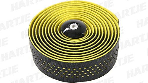 Contec Lenkerband Goo D2 Paar schwarz gelb 4250311359274 Fahrrad