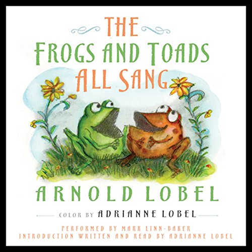 The Frogs and Toads All Sang audiobook cover art