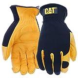 手のひらにジェルパッドで猫手袋レインウェアボス製作所ジャンボプレミアムレザーグローブ