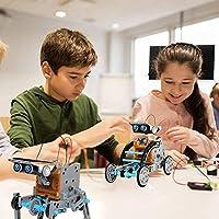 Giochi Per Ragazzi Di 8-12 Anni Maschio Giocattoli Robot Solare Educativi 12 in 1 ,Esperimento di Scienza Dell'edilizia Fai-da-te Per Bambini di Età Compresa Tra 8 e 12 Anni Robot Giocattolo #1