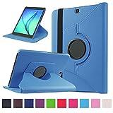 Coque pour Tab S2 9.7 - 360 degrés Rotation Coque en Cuir pour Samsung Galaxy Tab S2 9.7 Pouces SM-T810 / T815 Housse...