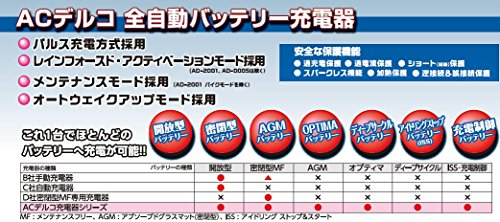 ACDelco『バッテリーチャージャー』