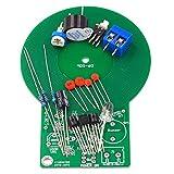 SHTAO Kit de práctica de Soldadura Detector de Metales La Pieza electrónica Produce Sonido y luz después de detectar el Kit de Detector electrónico