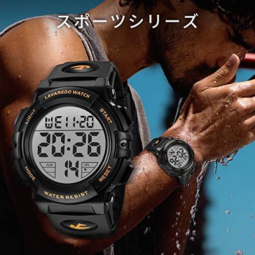 Senors『デジタル腕時計』