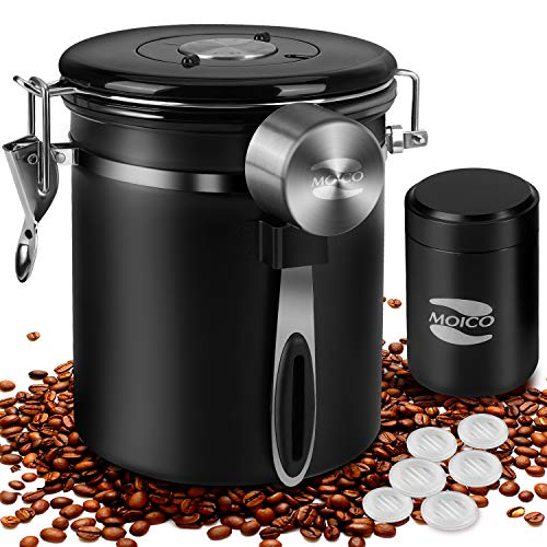 Coffee Container MOICO Coffee Stainless Steel Container $17.99(40% Off)