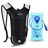 CKE Hydration Backpack for Men Women Kids Hydration Pack with 2L Water Bladder Water Backpack with Hydration Bladder for Running Cycling Biking Hiking Climbing Skiing Hunting Pouch