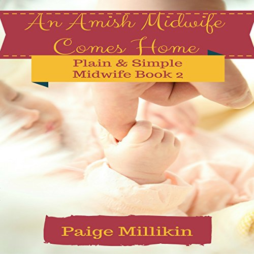 An Amish Midwife Comes Home audiobook cover art