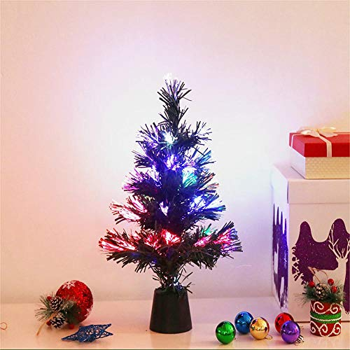 Funny Party Tabletop Artificial Christmas Tree with Colorful Auto Change Light