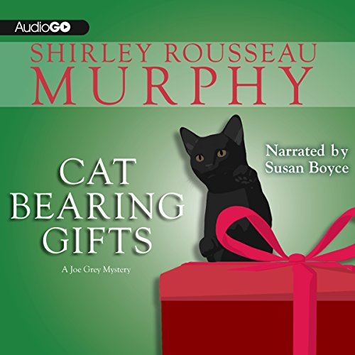Cat Bearing Gifts     A Joe Grey Mystery, Book 18              By:                                                                                                                                 Shirley Rousseau Murphy                               Narrated by:                                                                                                                                 Susan Boyce                      Length: 8 hrs and 51 mins     73 ratings     Overall 4.5
