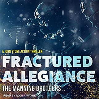 Fractured Allegiance audiobook cover art