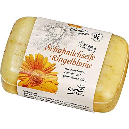 Saling - Schafmilchseife mit Ringelblumen, 100 g