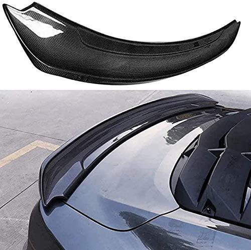 AleróN Trasero Maletero De Coche Trasero De Labio Spoiler Wing Para Mustang GT V8 V6 Coupe GT350 Style 2015-2018 2016 2017,Fibra De Carbono Real De Coche Y Accesorios De CarroceríA